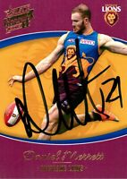 ✺Signed✺ 2014 BRISBANE LIONS AFL Card DANIEL MERRETT