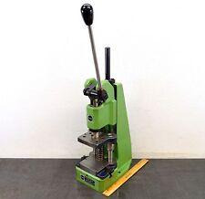 "Schmidt Manual Press No. 11 Toggle Bench Press 2600 Lb 1-3/4"" Stroke W/ Die Shoe"