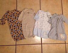 Baby Boy Lot Carters Newborn 0-3-6 Months Puppy Dog Sleeper Pajamas Rene Rofe