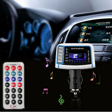 """1.44"""" LCD Car MP3 MP4 Player Wireless FM Transmitter With Remote Control GA"""