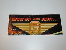 "VINTAGE GI JOE 1987 LEAFLET BROCHURE CATALOG ""G-FORCE RECRUITMENT"" - HASBRO"