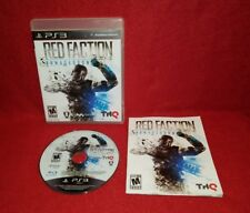Red Faction: Armageddon (Sony PlayStation 3 PS3, 2011)