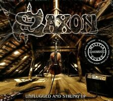 SAXON - UNPLUGGED AND STRUNG UP 2 CD NEW+