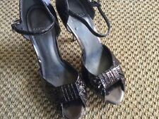 Carvela Peep Toe Patent Leather Slim Heels for Women