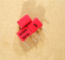 2X WIMA 100pF 100V FKP2 Capacitor Audio Speaker Amplifier HI-FI DIY 100p n1 101