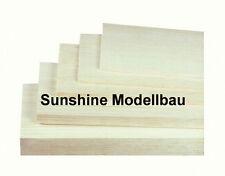 Balsaholz-Balsabrettchen 2x100x1000mm 5 Stück