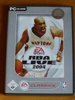"PC CD-Rom  ""NBA LIVE 2004"""
