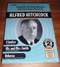 Alfred Hitchcock Radio: I Confess - Mr. Smith - Rebecca - Cassettes NEW