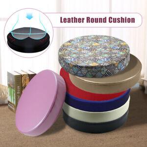 Japanese-style Round PU Futon Cushion Floor Yoga Chair Seat Mat Tatami Pillow