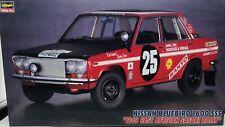 Hasegawa 1/24 Nissan Bluebird 1600 SSS 1969 East African Safari Rally #20207