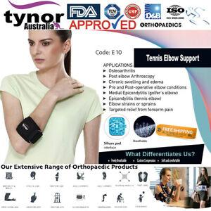 Tynor™ Tennis & Golfer's Elbow Strap Pain Relief Silicone Pad Gym Osteoarthritis