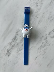 Vintage 80's The Real Ghostbusters Stay Puft Marshmallow Man Wristwatch watch