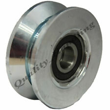 Sliding Gate Wheel Pulley Wheel 80mm V Groove Double Bearing Steel Wheel 250kg