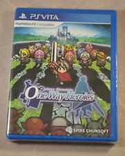 Mystery Chronicle One Way Heroics Sony PS Vita New Sealed Limited Run LR-V1