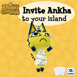 Ankha (Card 188) Animal Crossing Villager Amiibo New Horizons ACNH Series 2 #188
