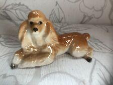 More details for beautiful vintage lomonosov poodle figurine/collectible dog ornament russia