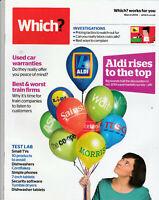 WHICH? Magazine March 2014 - Aldi Rises To The Top