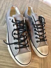 Mens Gray Leather JOHN VARVATOS Sneaker 10.5