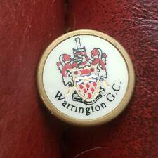 New listing Warrington Golf Club Ball Marker (Vintage Brass)