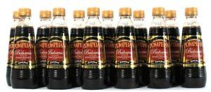 12 Bottles Pompeian 16 Oz Balsamic Vinegar Pomegranate Infused With Antioxidants