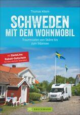 Schweden mit dem Wohnmobil Campingführer Routen Stellplätze Touren Buch Book