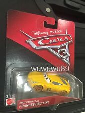 Disney Cars 3 Cruz Ramirez as Frances Beltline Thunder Hollow Mattel1:55 Diecast