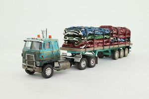 CORGI US HEAVY US51404 1/50 International Transtar Crushed Car Load Lindquist