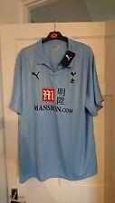 Tottenham Hotspur Espuelas Cielo Azul 2008/2009 Away Camiseta Jersey-XXL-a Estrenar!!!