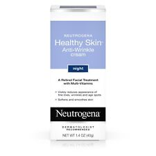 Neutrogena Healthy Skin Anti-Wrinkle Cream Night With Retinol 1.4 Oz