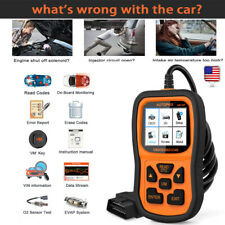 Automotive EOBD Code Reader OBD2 Scanner Car Check Engine Fault Diagnose OM126P