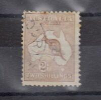 Australia 1913 2/- Roo SG12 Fine Used J7931