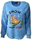 Women's RUDOLPH the Red-Nosed Reindeer Party Ugly Christmas Sweater Sz S A905