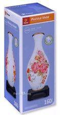 Pintoo Puzzle Vase 160 Piece 3D Vase Flower Rose Design New Sealed