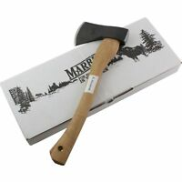 "Marbles Camp 15.75"" Axe High Carbon Steel Head Hatchet Hickory Handle MR701"