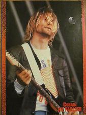 Kurt Cobain, Nirvana, Double Full Page Vintage Pinup