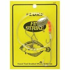 """Fin Strike 557 Fluke Rig Duratin Ryder / Stinger w/ Spinner Hook 36"""" Leader 1pc"""