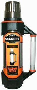 Stanley Männer Vakuum Thermo Flasche Edelstahl 1 Liter Thermoskanne Alu Griff
