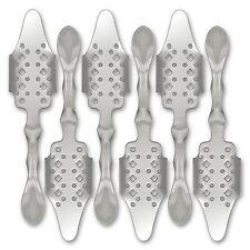 6x Absinth Löffel Bistro - Absinthe Spoon - Cuillère à Absinthe - Besteck
