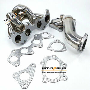 TD04 Upgrade Exhaust Manifold+Downpipe FOR Toyota 4EFTE Starlet EP82/ EP85/ EP91