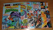 (6) Bronze Dc Comics Aquaman Wonder Woman Vf'S