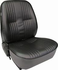Procar 1400 Series Vintage-Style Vinyl Low Back Seat Passenger Side Black