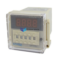 DH48J 1-999900 8 Pin Count Up Digital Counter Relay AC 110V 50/60Hz