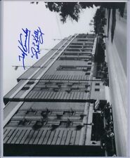SIGNED RED KELLY TED KENNEDY MAPLE LEAF GARDENS PHOTO