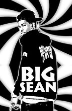 "Big Sean ""Black Light"" Poster"