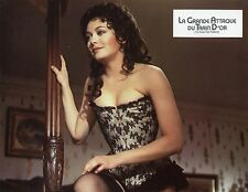 LESLEY-ANNE DOWN THE FIRST GREAT TRAIN ROBBERY 1978 VINTAGE PHOTO  LOBBY CARD 1