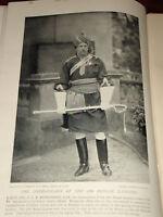 1896 Lt Col G.L.R.richardson Commandant 18TH Bengala Lancers India