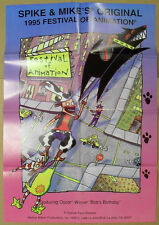 SPIKE & MIKES 1995 FESTIVAL of ANIMATION one sheet movie poster ~ BOB'S BIRTHDAY