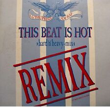 ++B.G. THE PRINCE OF RAP this beat is hot (3 versions) MAXI 1991 SONY VG++