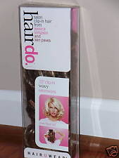 """HairDo Salon Clip-In Hair Extensions 15"""" WAVY BUTTERED TOAST"""