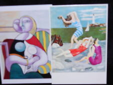 2 photo postcards Pablo Picasso Women Bathing Art